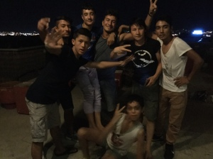 Mohammad and our unaccompanied minors.
